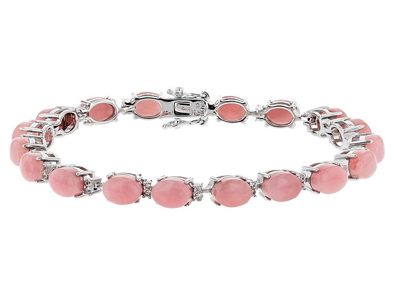 opal sterling silver amp gb en hires of gemstone cuff london bracelet pink and links serpentine