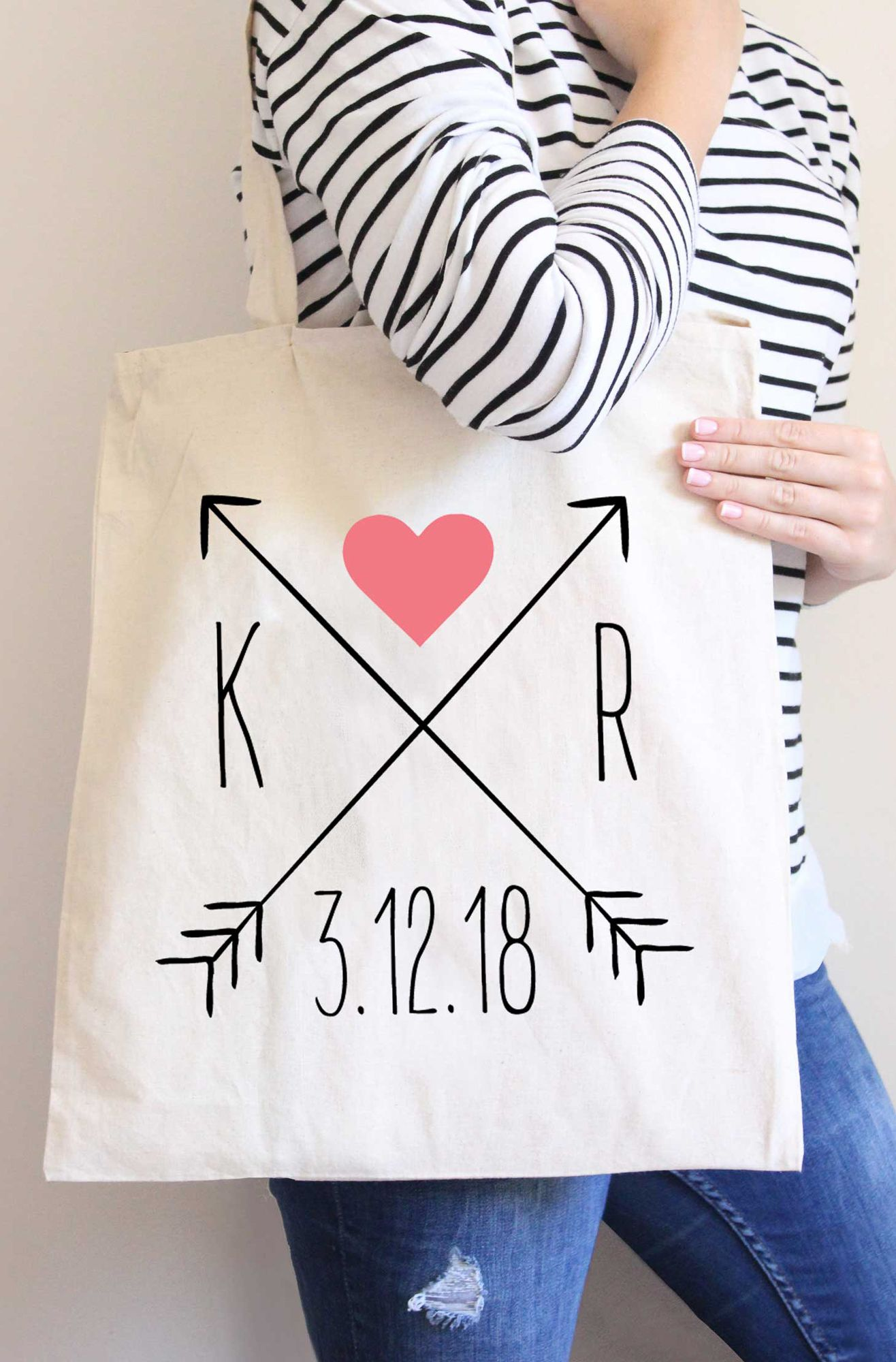 personalized tote bags for your wedding custom wedding tote bags