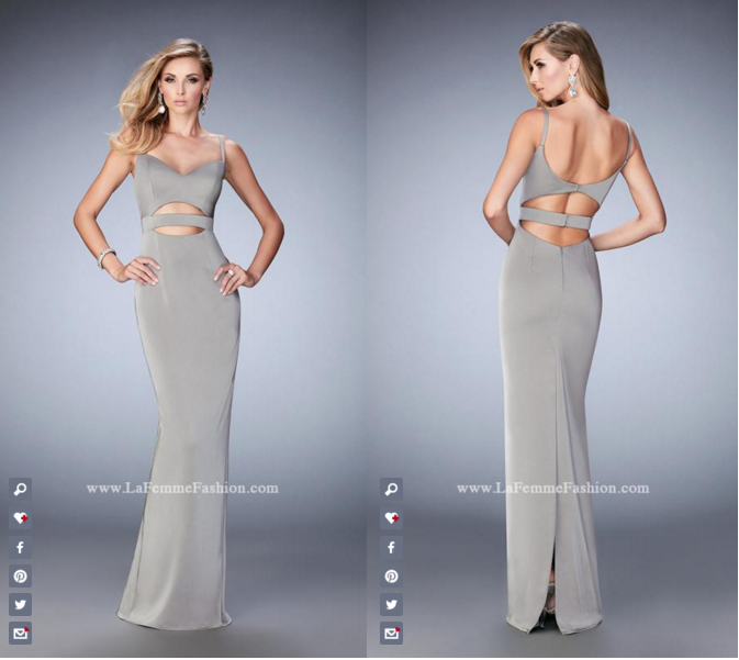 Prom Dresses with Stomach Cutouts