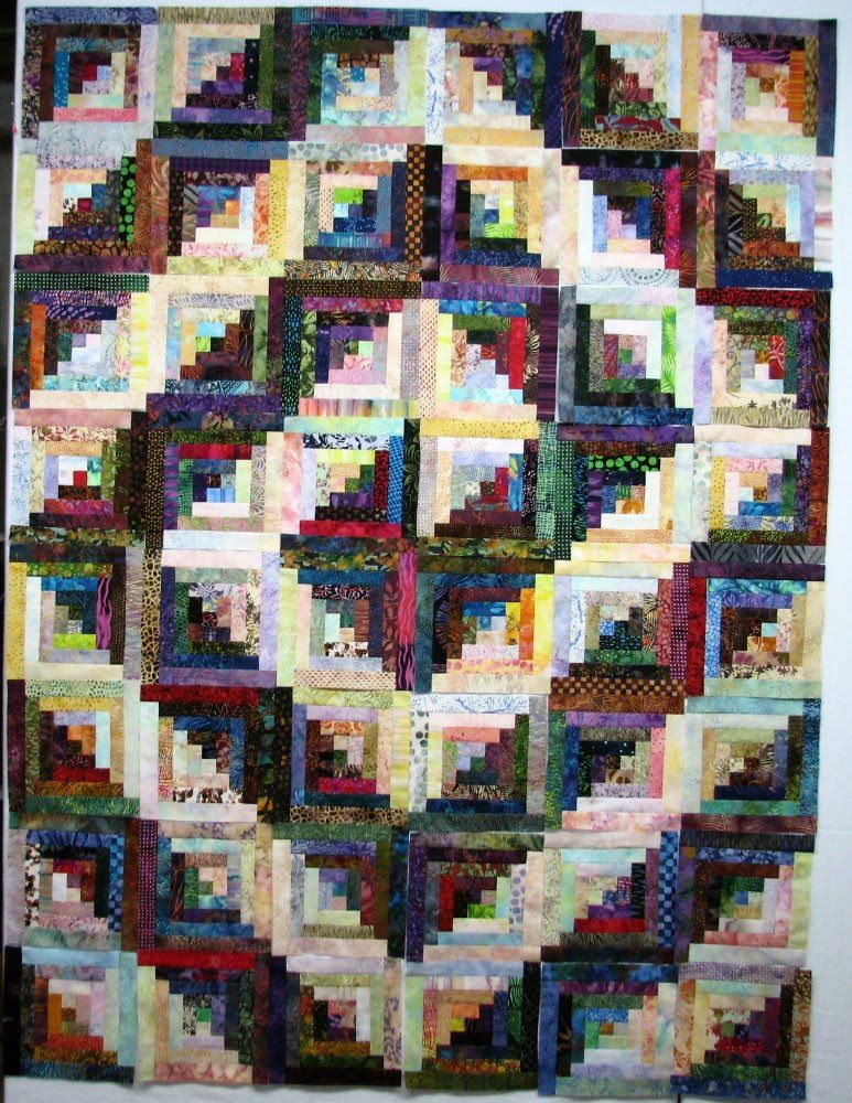 Log Cabin Quilt Layouts Spiral Nice Quilts Pinterest Log