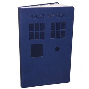 Blue Tardis Soft Touch A5 Doctor Who Notebook