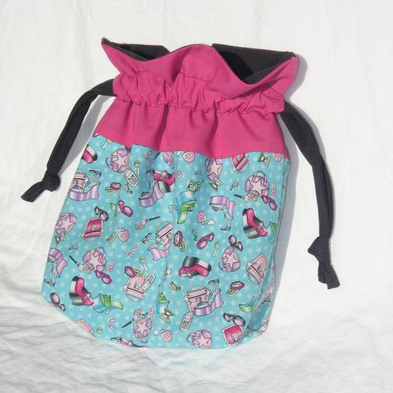 Drawstring Bag, Lined