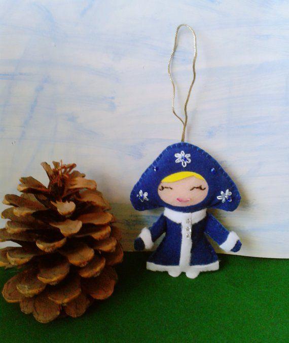 Ice Queen Christmas Decor Home Decor Snow Queen Ornament