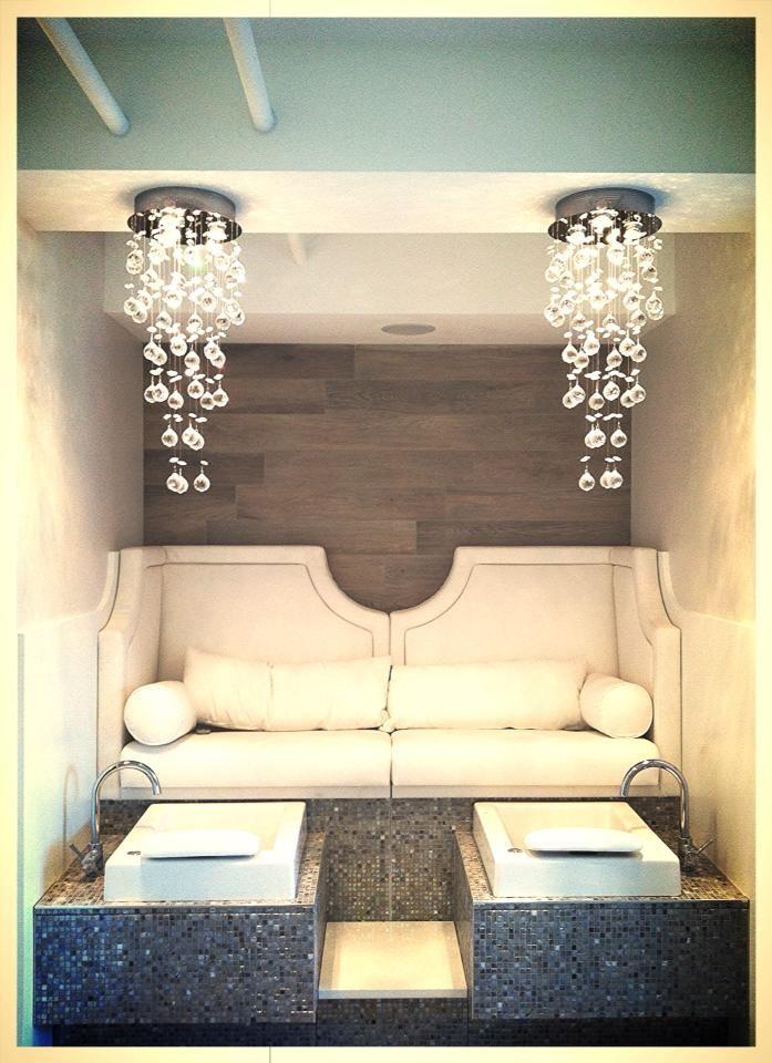 luxury pedicure stations! beach house day spa, birmingham