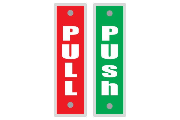 Printable Push And Pull Signs For Doors Free Download Now Door