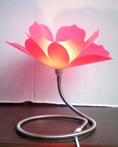 Modern And Beautiful Table Lamp Interior Design Flower Table Lamp