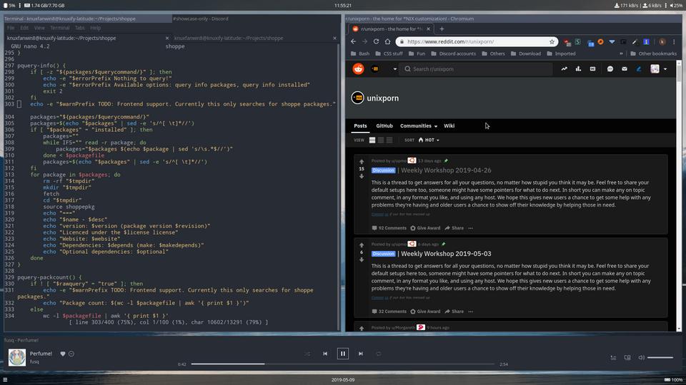 i3-gaps] comfy setup for daily use : unixporn | Desktop