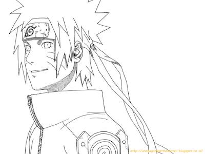 Mewarnai Gambar Naruto 8 Naruto Shippuden Pinterest Naruto