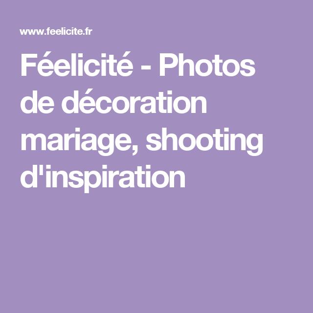 Féelicité - Photos de décoration mariage, shooting d'inspiration