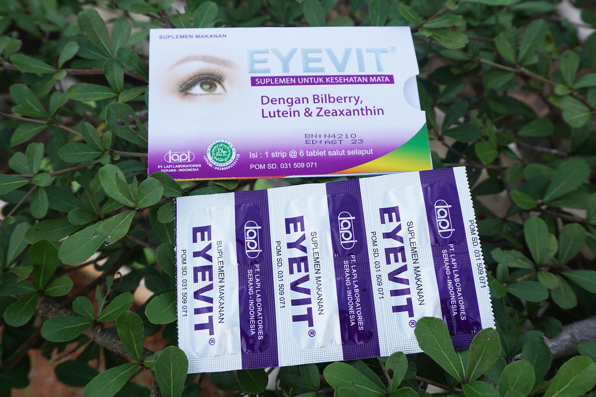 Eyevit Vitamin Mata Tablet