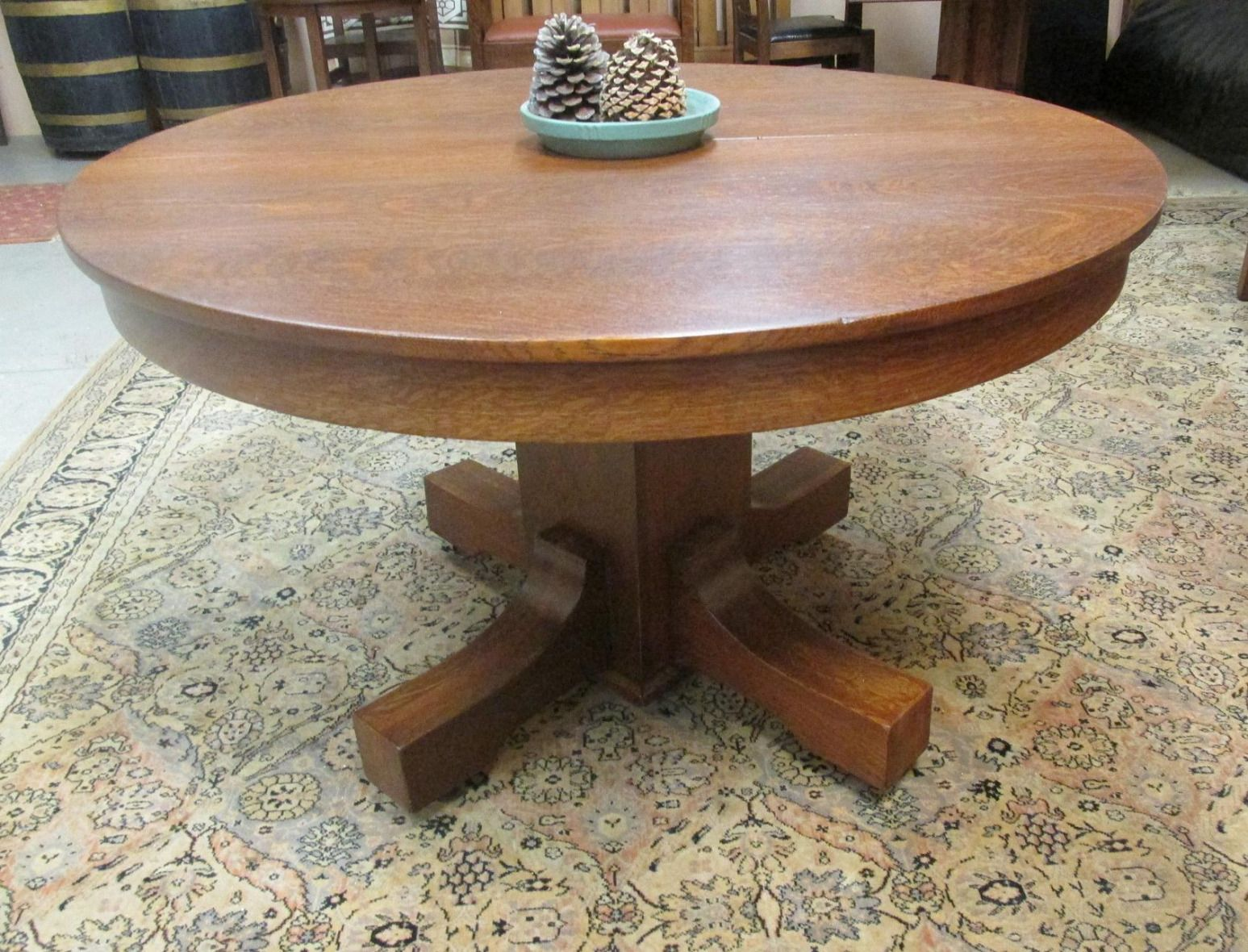 100 Antique Oak Round Dining Table Best Modern Furniture Check More At Http Livelylighting