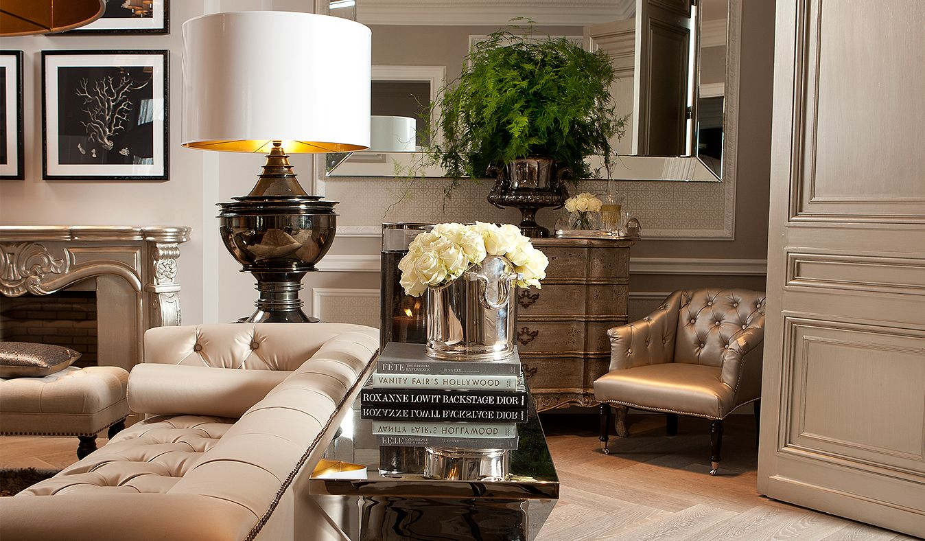 Taupe Black And Cream Living Room Love The Use Of Oversized