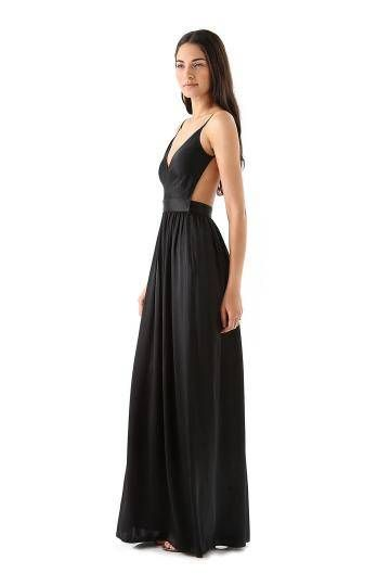 307ca4e122 Pleated Cami Maxi Dress with Open Back - US 26.95 -YOINS