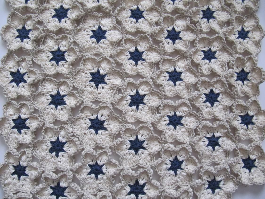 Bloomy #Crochet Baby Blanket by häkelmonster