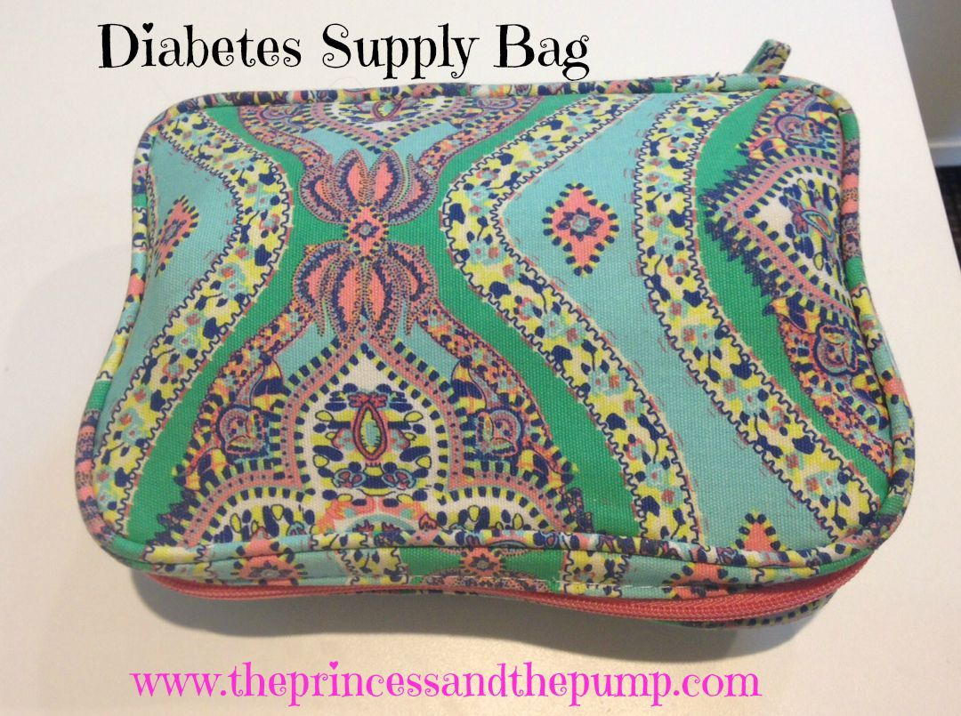 The Princess and The Pump  A Type 1 Diabetes Blog  We ve Got It In The Bag!  Diabetes Supply Bags and What We re Loving Now 38f386536a0a6