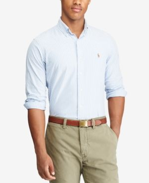 Polo Ralph Lauren Men/'s Classic Fit Stretch Oxford Shirt