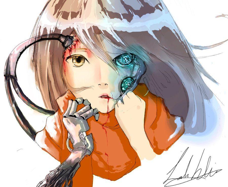 Anime Robot Girl By Lahhtoota On Deviantart Aurora I Won T