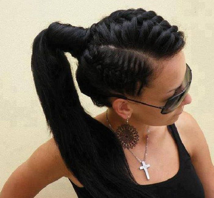 Super 1000 Images About Pretty Hairstyles On Pinterest Black Women Hairstyles For Men Maxibearus