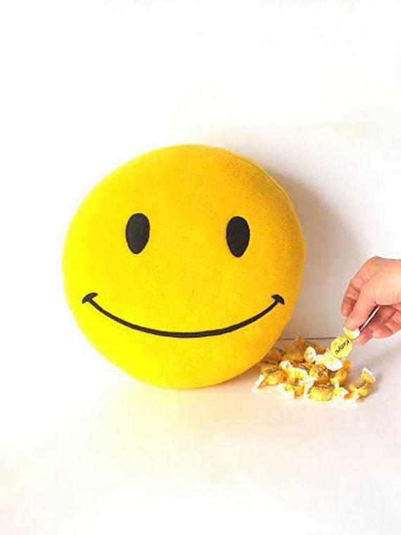 Smiley, Smiley face, Smiley face pillow, Happy Face pillow ...