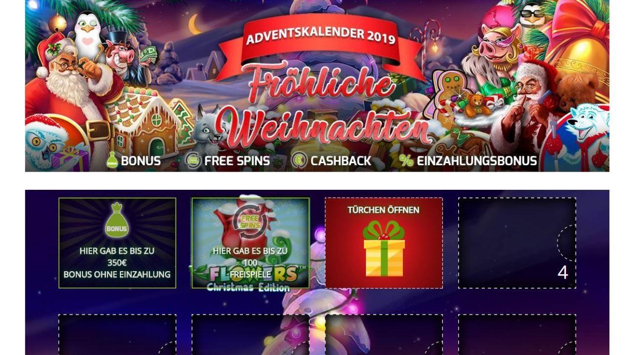 Online Casino Adventskalender