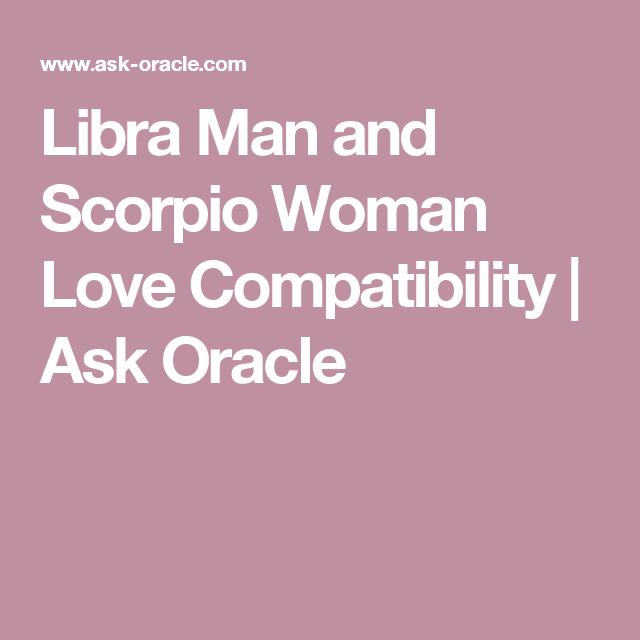 Compatibility Scorpio Libra Female And Male
