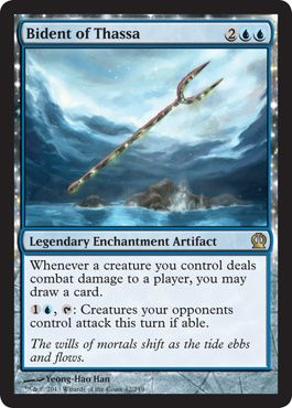 Theros by Magic the Gathering Bident of Thassa Magic the Gathering