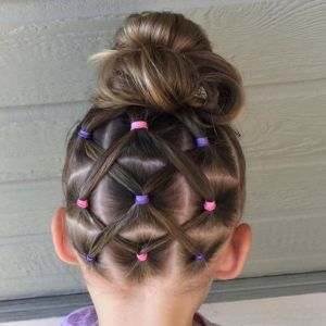 40 Adorable Little Girl Updos - Hair Beauty