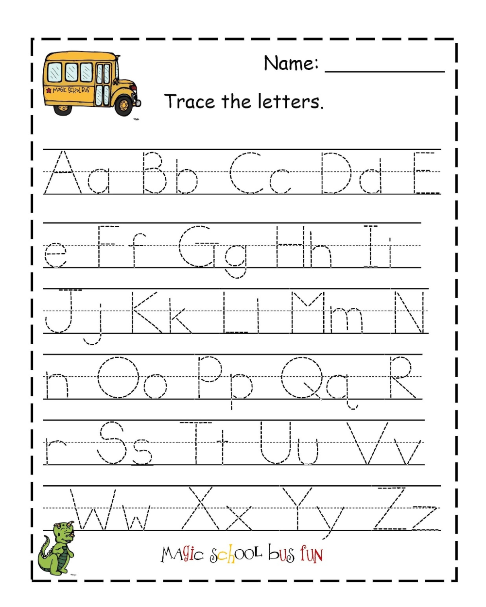 Traceable Letter Worksheets To Print Kindergarten Worksheets Printable Kindergarten Worksheets Tracing Worksheets [ 1250 x 1000 Pixel ]