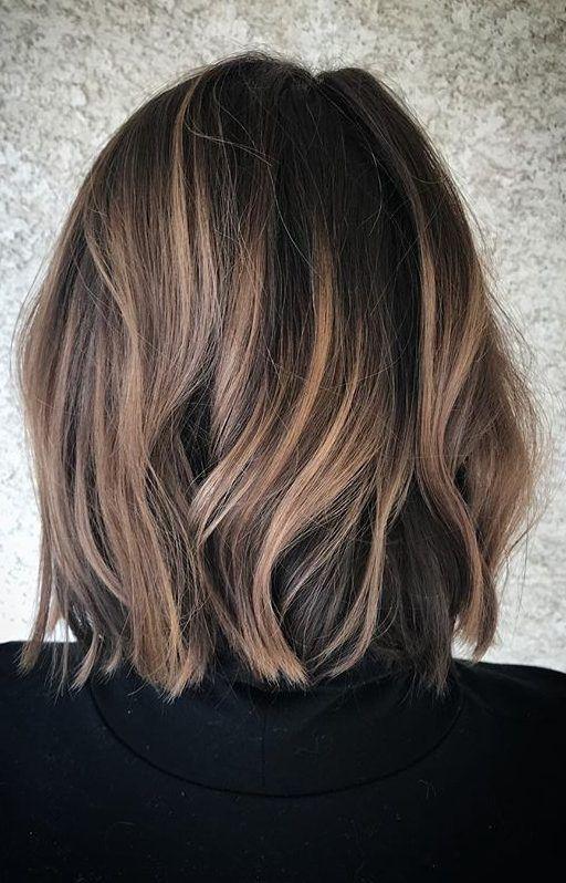 20 heißesten Highlights für braunes Haar, um Ihre Funktionen zu verbessern #hair