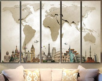 World map canvas art wold map large canvas art world map canvas world map canvas art wold map large canvas art world map canvas print world map wall gumiabroncs Choice Image