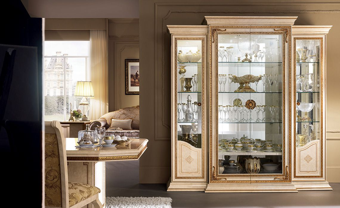 Leonardo Collection Dining Room, Display Cabinet Www.arredoclassic.com/ Dining Room/display Cabinets Leonardo
