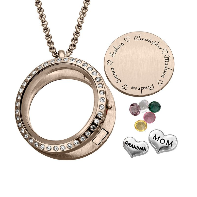 Dangles for Floating Charm Locket Necklace