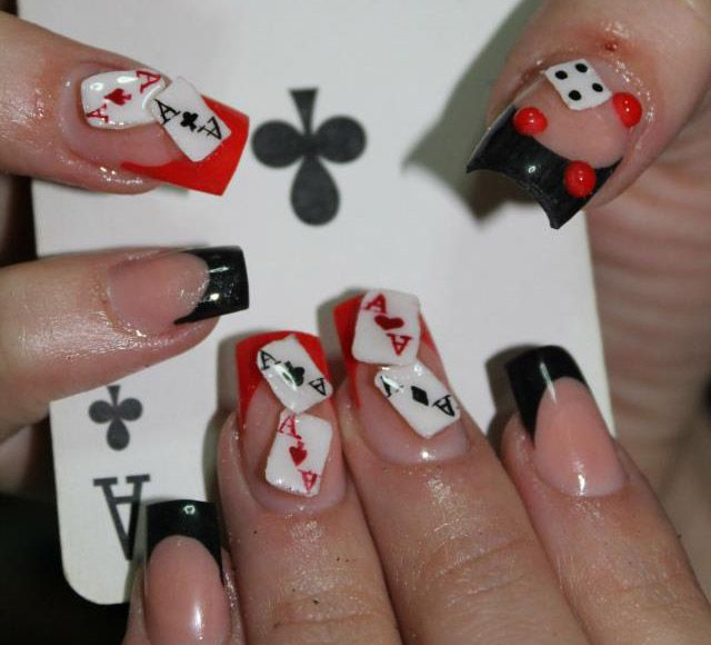 21 ultra beautiful 3d nail arts for the week modern nails vegas 21 ultra beautiful 3d nail arts for the week prinsesfo Image collections