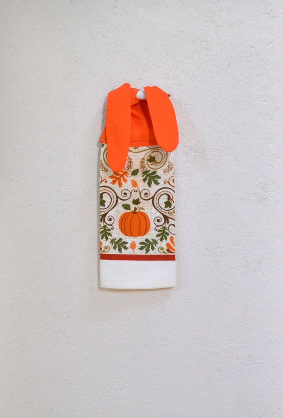 Kitchen Hand Towel Tie On Towel Towel With Ties By SuesAkornShop, $7.00