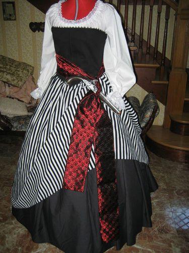BLACK SKIRT Pirate Witch Renaissance Steampunk Civil War Gothic - black skirt halloween costume ideas
