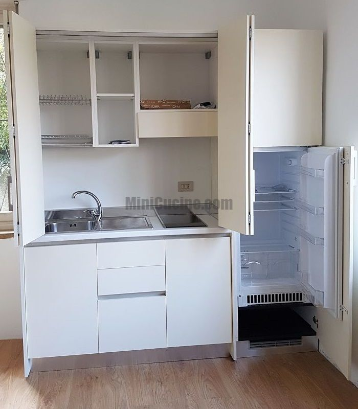 Cucine a scomparsa, Mini Cucine monoblocco | Mini kitchen ...