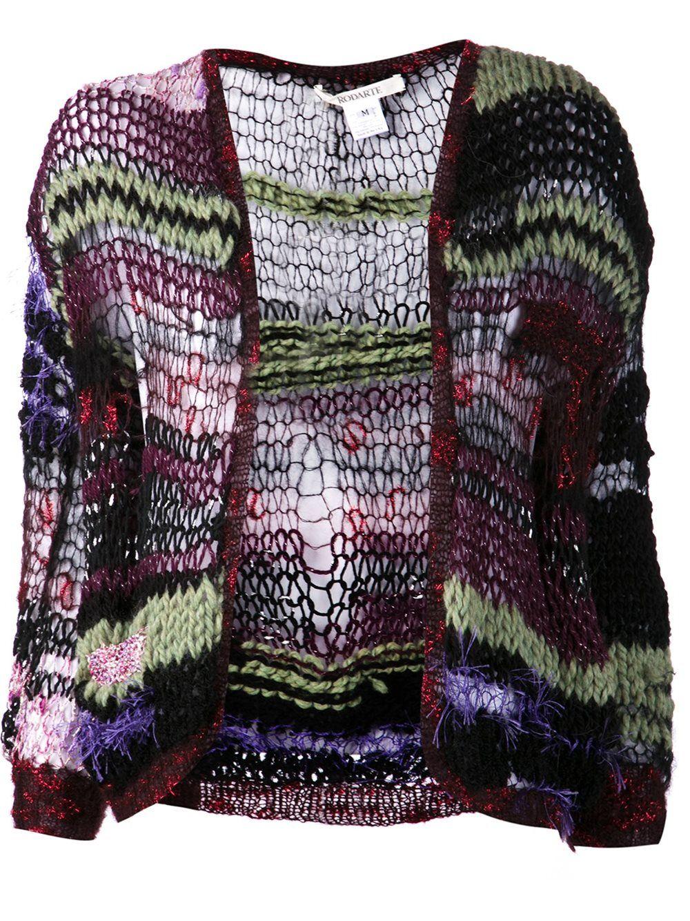 Rodarte open knit cardigan