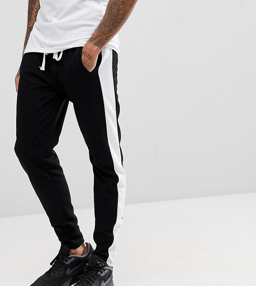 #mothersday #AdoreWe #ASOS Clothing~~Activewear~~Active Pants - Liquor N  Poker Liquor N Poker Joggers With Side Stripe And Ankle Zip - Black -  AdoreWe.com
