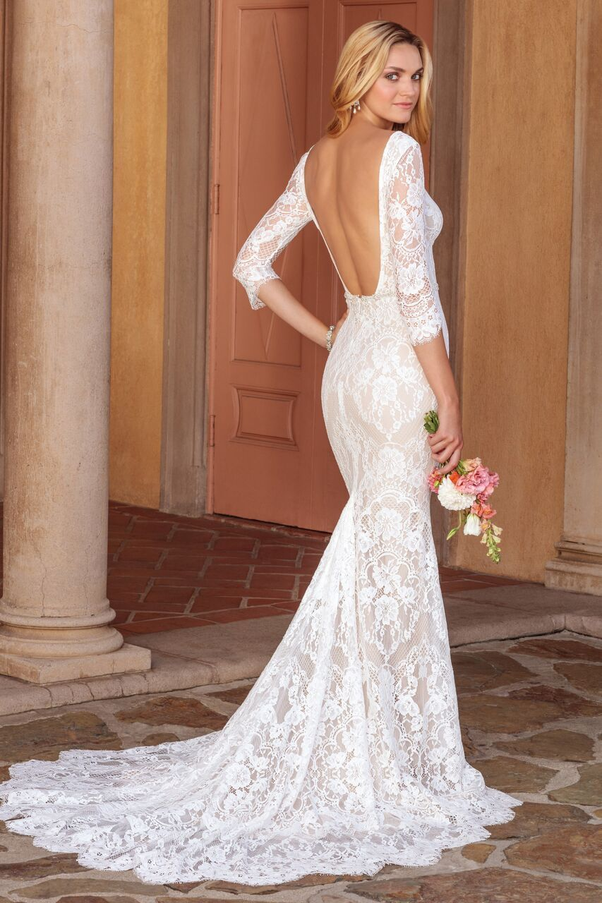 Elegantly Classic Casablanca Wedding Dresses Villa del Sol ...