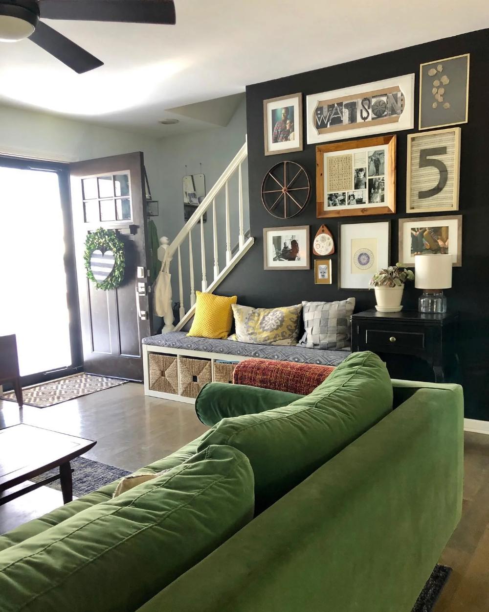 Sven Grass Green Sofa in 2020 | Green sofa, Living room ...
