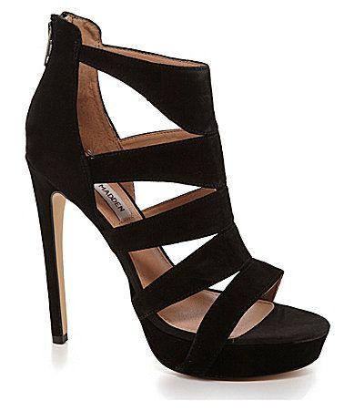 Steve Madden Spycee Platform Sandals #Dillards #matcheseverything!