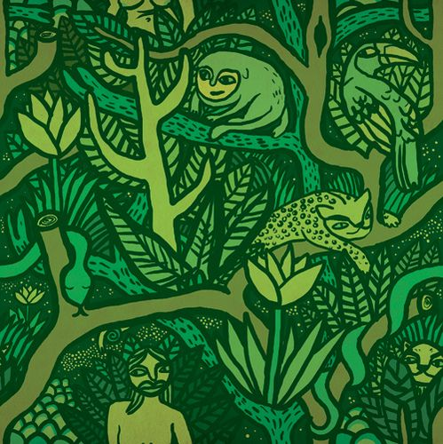 Jungle Pattern for your desktop background #junglepattern