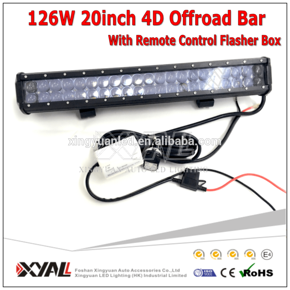 Waterproof ip67 4x4 truck led driving light roof lightbar 20 4d waterproof ip67 4x4 truck led driving light roof lightbar 20 4d lens offroad light mozeypictures Choice Image