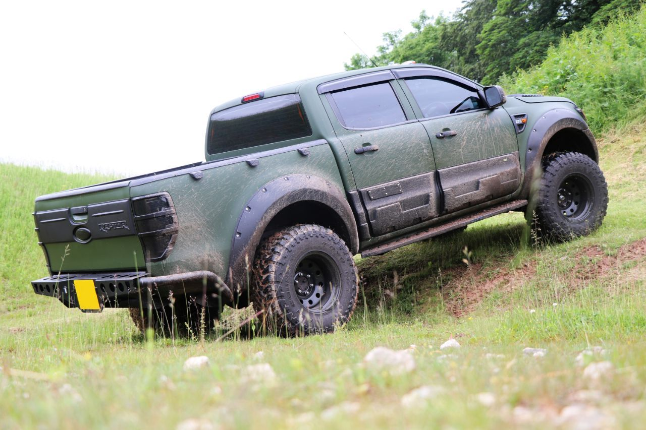 Ford Ranger 2 2 Seeker Raptor Camo Edition With 9k Seeker Styling Spend Pick Up Diesel Camo