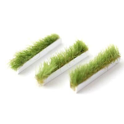 3 STRIPS S30 MINIATURE DOLLHOUSE 1:12 SCALE GREEN TRIM