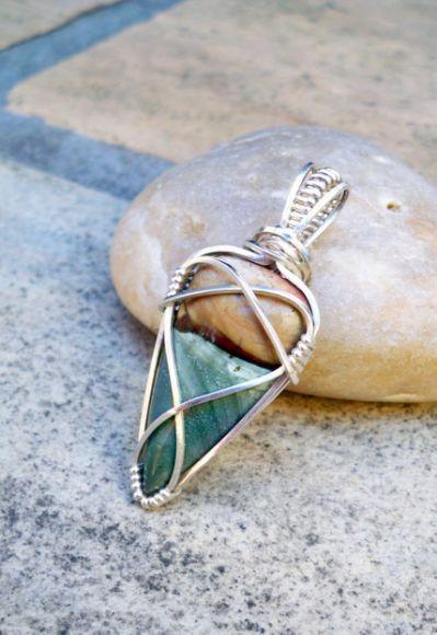 Best 25+ Wire Wrapped Stones ideas | Jewelry | Pinterest | Wire ...