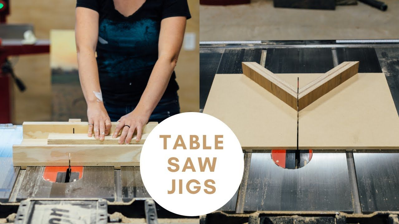 EASY Tablesaw Jigs for Every Woodworker! YouTube in 2020