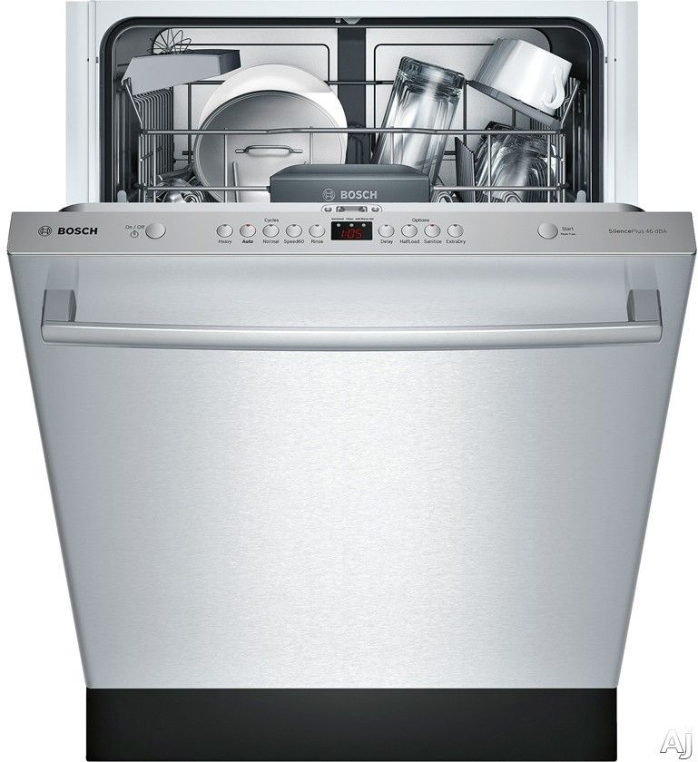 Bosch Shx5av5xuc Fully Integrated Dishwasher With 14 Place Setting Capacity 5 Wash Cycles Sani Built In Dishwasher Integrated Dishwasher Built In Dishwashers