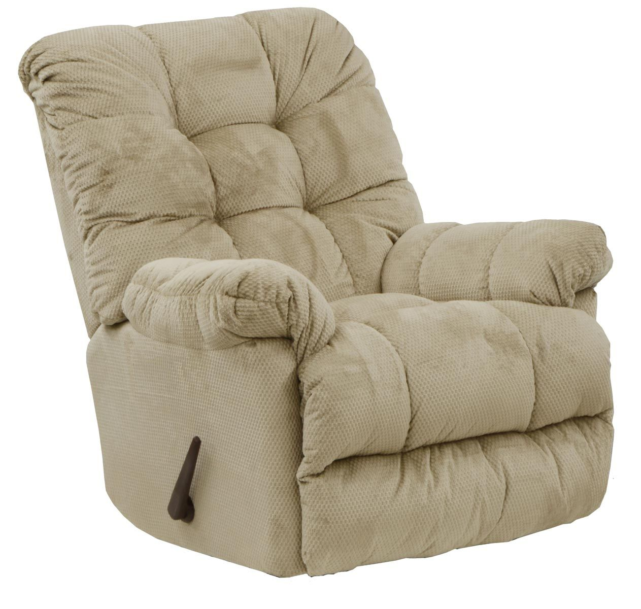 CatNapper Nettles Chaise Rocker Recliner with Deluxe Heat and Massage - Doe
