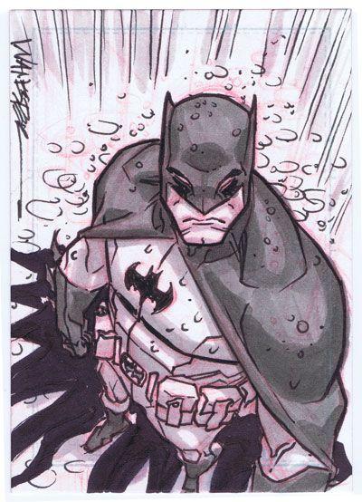 The Bat Man by Jeff Wamester